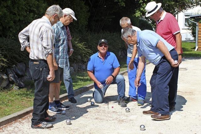 Ein Sport auch für die Älteren