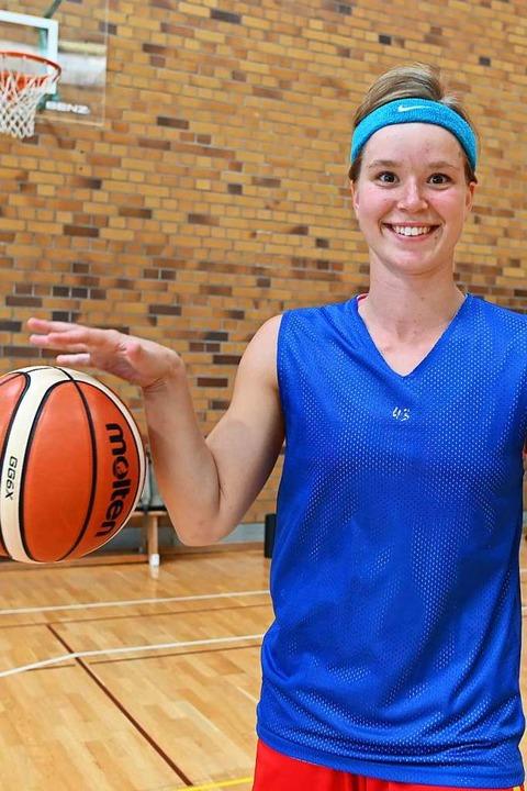 Nachwuchs-Nationalspielerin Pauline Mayer  | Foto: Patrick Seeger