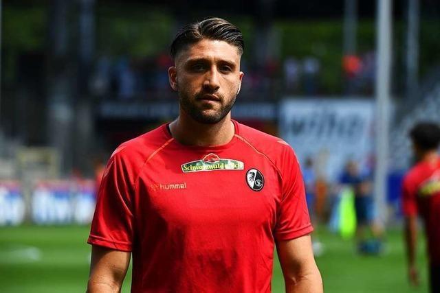 Brandon Borrello hat es in die Startelf des SC Freiburg geschafft