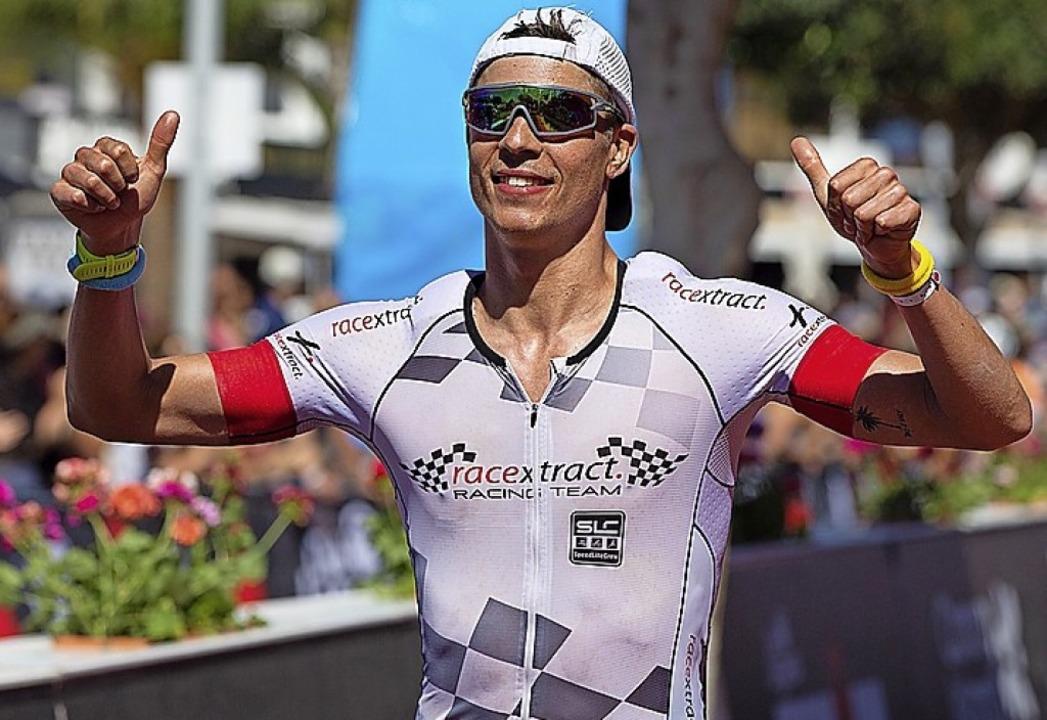 Hannes Wolpert beim Ironman auf Lanzarote.   | Foto: ingo_kutsche
