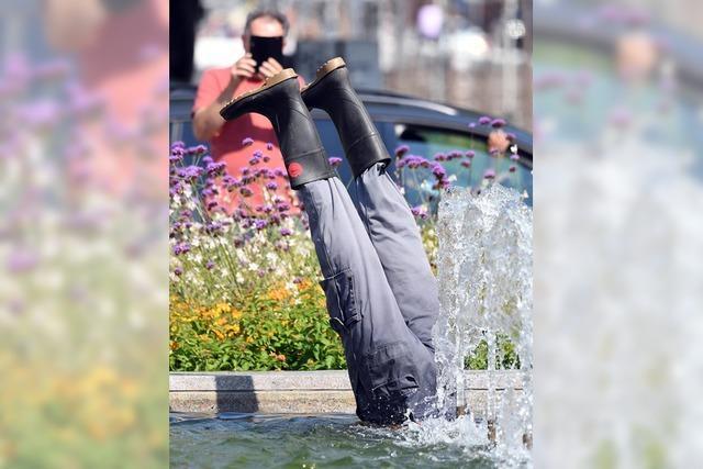 Ein wortwörtlicher Springbrunnen