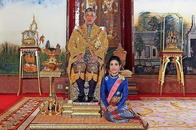 Erste Bilder von der Geliebten des Königs von Thailand