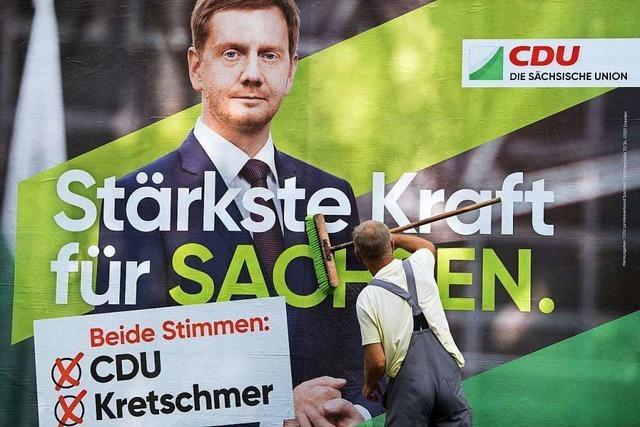 Vor den Landtagswahlen im Osten ist Deutschland ein Land im Schwebezustand