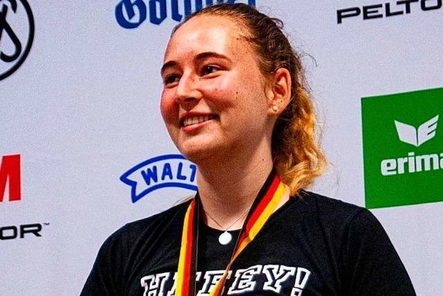 17-jährige Sportschützin holt erstes DM-Gold für Heitersheim