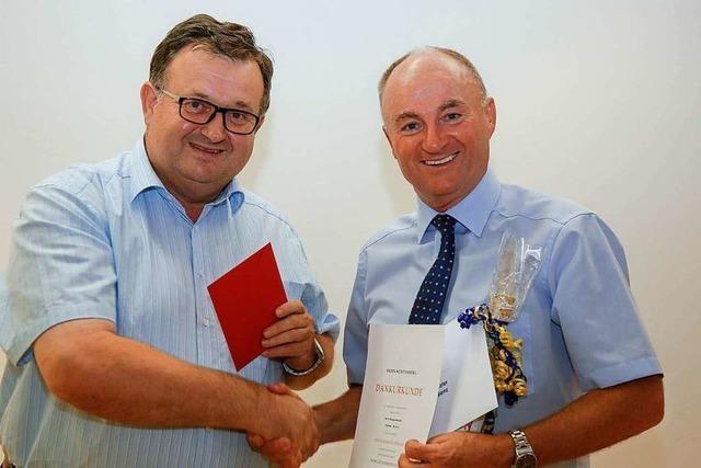 Bürgermeister Dietmar Benz ist seit 40 Jahren im öffentlichen Dienst