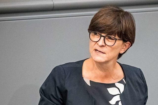Saskia Esken und Walter-Borjans wollen für SPD-Vorsitz kandidieren