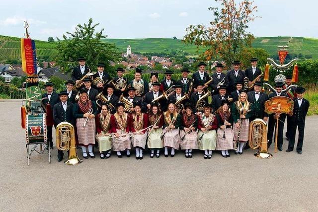 Erst seit 1979 musizieren Frauen bei der Winzerkapelle Pfaffenweiler mit