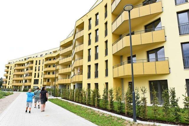 Die ersten Mieter ziehen im Neubauprojekt Schildacker in Haslach ein