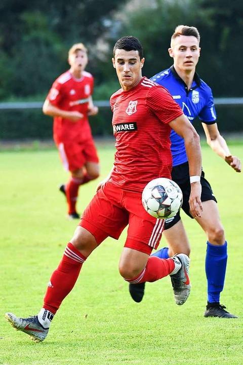 Auch Ivan Novakovic zählte zu den Freiburger Torschützen in Waldkirch.  | Foto: Achim Keller