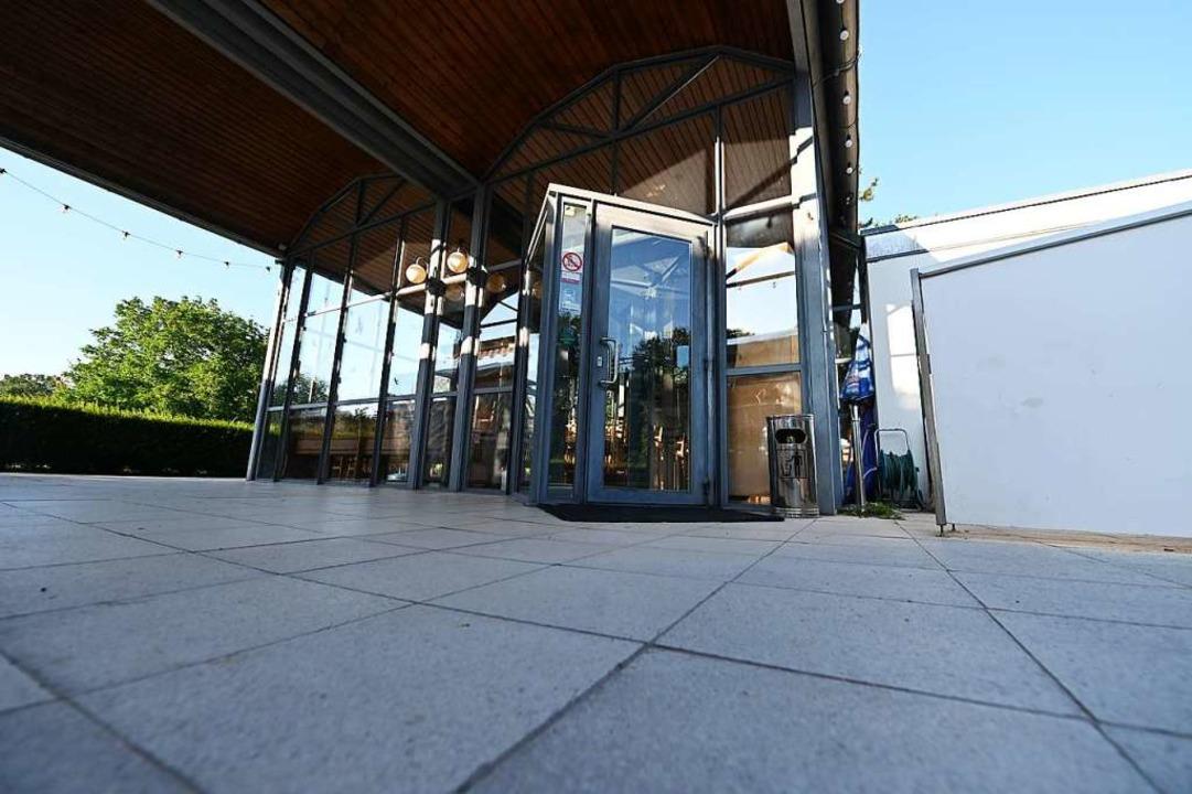 Die Türen werden nur noch für Veranstaltungen geöffnet.  | Foto: Jonas Hirt