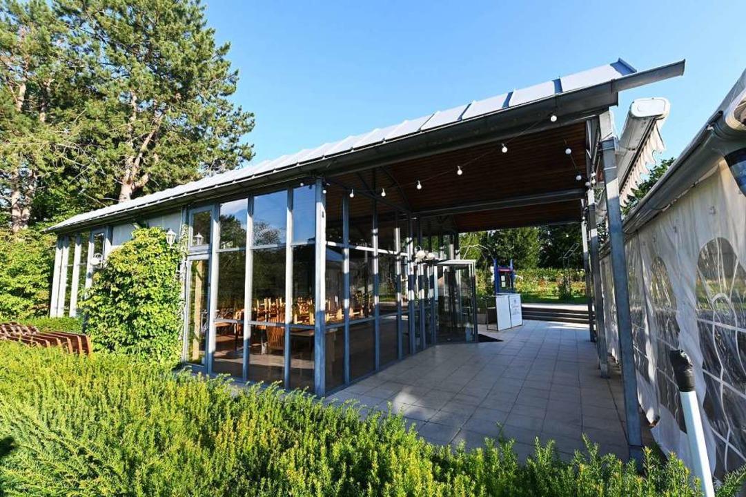 Der Pavillon  | Foto: Jonas Hirt