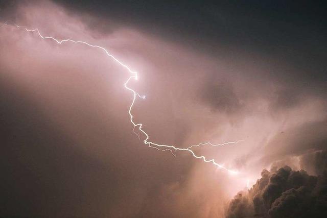 Gewitter im Hochschwarzwald: Zwischen Schluchsee und Bonndorf hagelte es