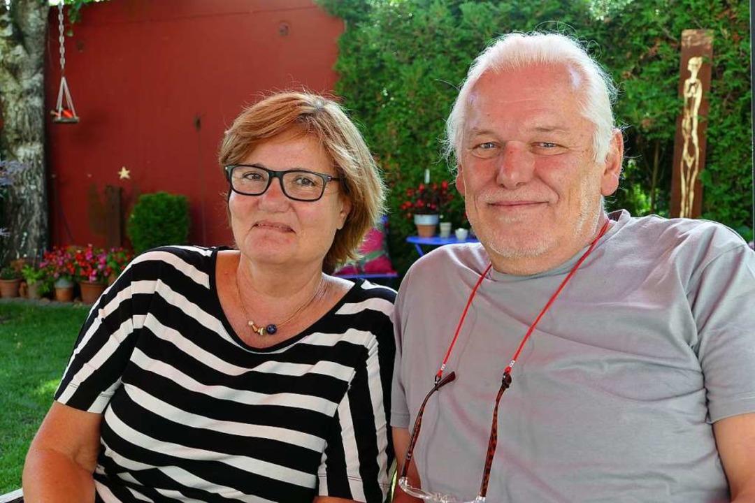 Koordinatorin Monika Bieber und  Jörg  Mittmann  | Foto: Ulrich Senf