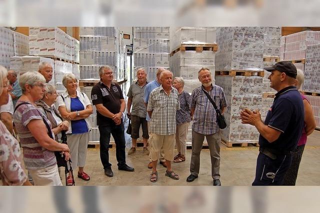 Im Betrieb herrscht Alkoholverbot