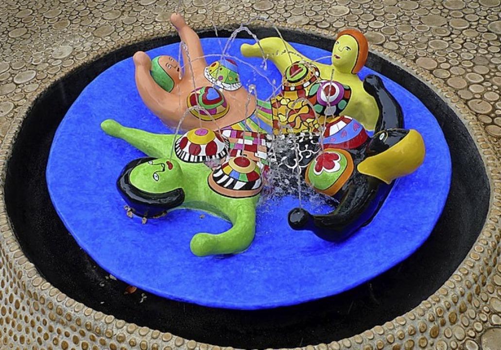 Skulptur von Niki de Saint Phalle  | Foto: Wolfram Köhli