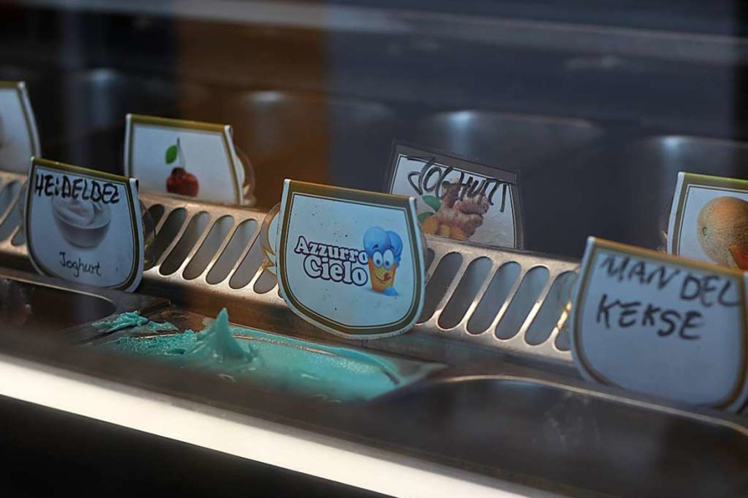 Auch sie stellen täglich frisches Eis her.    Foto: Joshua Kocher
