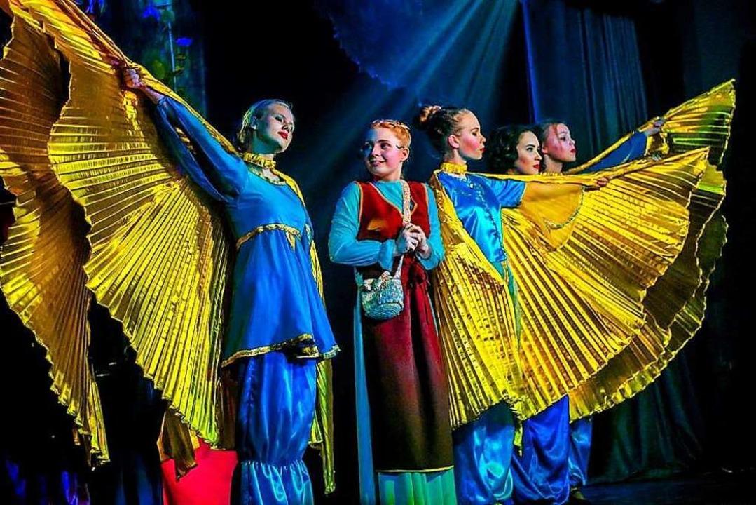 Die Musicalcompany des LMG verbringt zehn Tage in Russland.  | Foto: Company