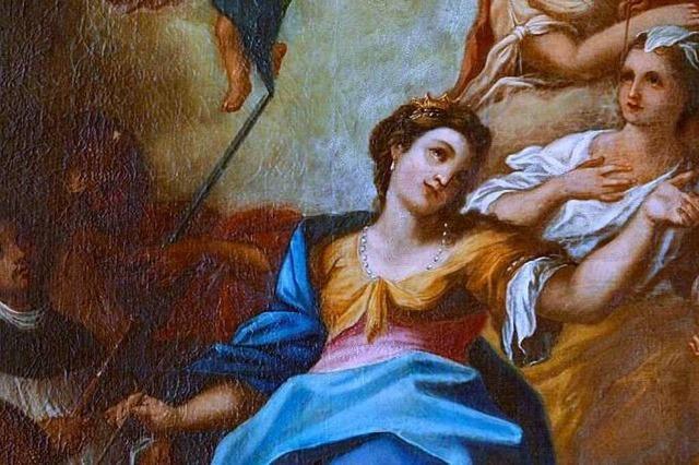 Die Heilige Ursula ist die Patronin der Lehre