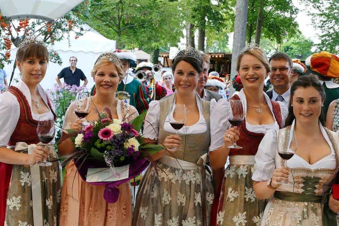 Das Weinfest Kaiserstuhl und Tuniberg ...arty, Kulinarisches und Fahrgeschäfte.  | Foto: Agnes Pohrt