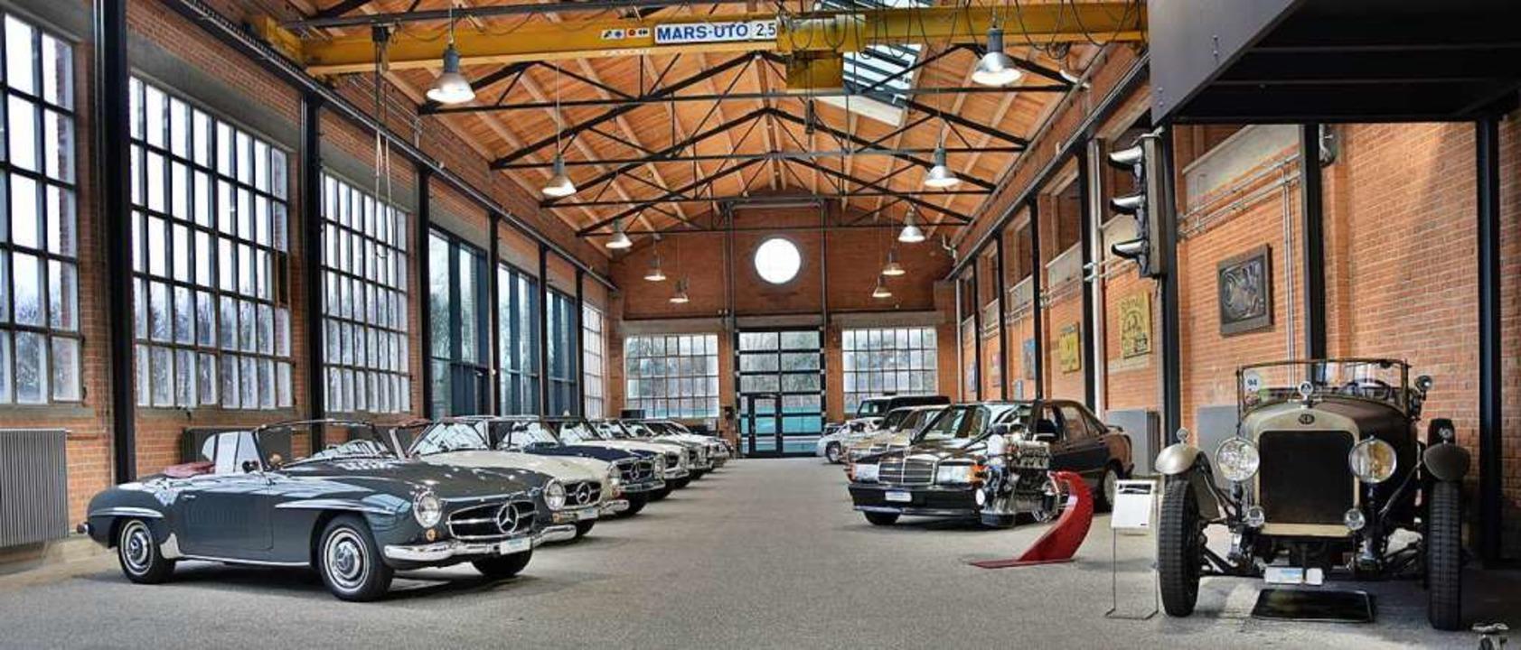 Das Mercedes-Classic-Center bei Kesten...atteln ist das einzige in der Schweiz.  | Foto: Kestenholz Holding AG