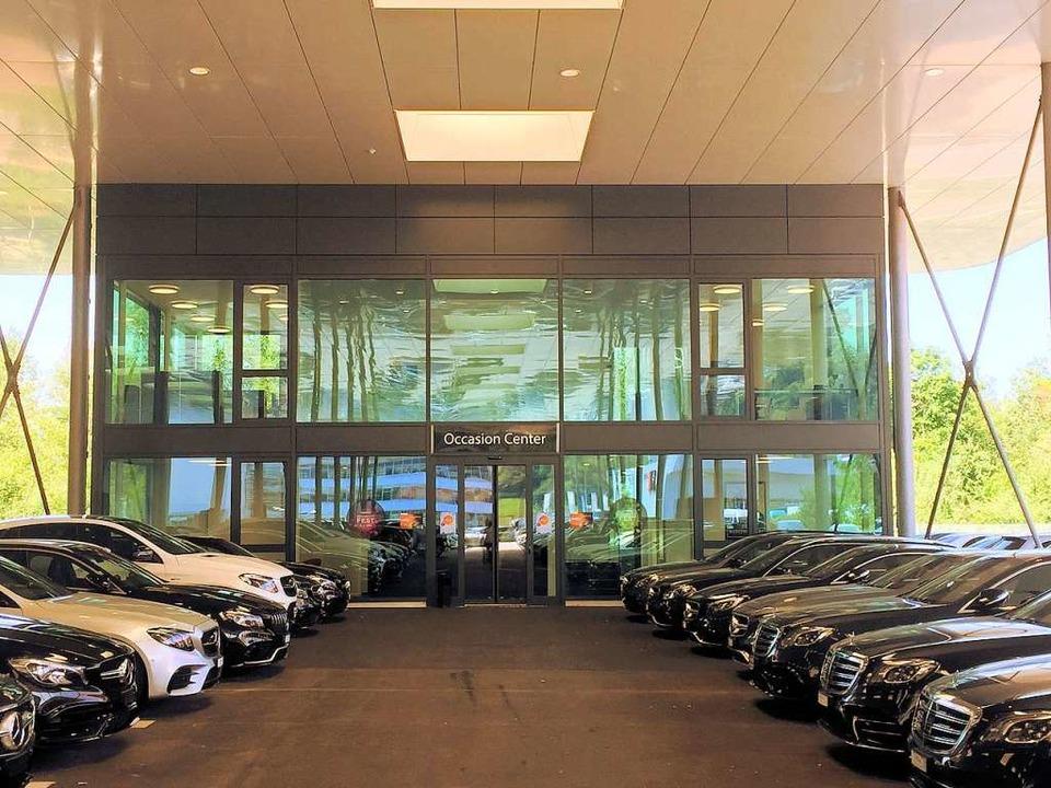 Kestenholz hat seine Mercedes-City in Pratteln fertiggestellt.  | Foto: Kestenholz Holding AG
