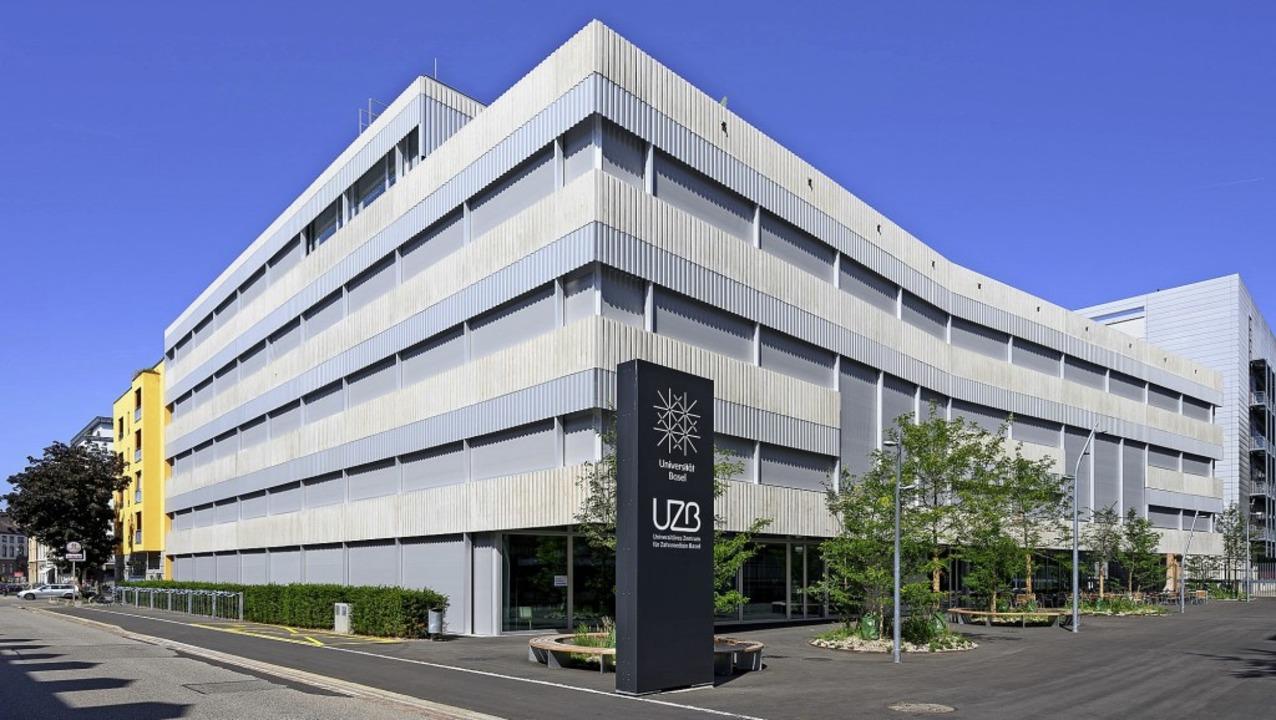 Der Neubau des Universitäten Zentrums für Zahnmedizin im Basler Rosentalareal  | Foto: Christian Bettinger
