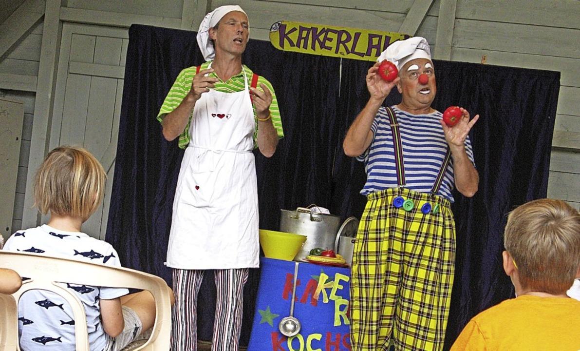 Gesunde Ernährung stand dieses Mal bei...Kakerlakis in Bernau auf dem Programm.  | Foto: Ulrike Spiegelhalter