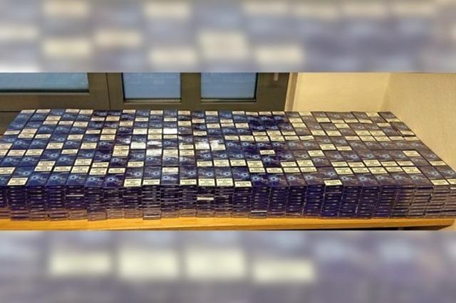 108 000 Zigaretten im ICE geschmuggelt