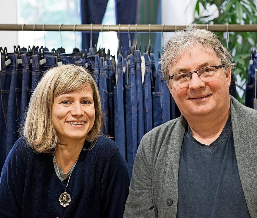 Miriam Henninger und Walter Blauth.     Foto: privat