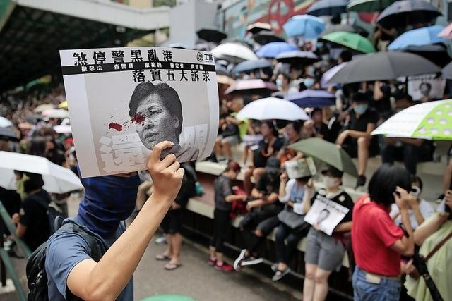 China droht Demonstranten