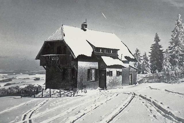 Das Naturfreundehaus in Breitnau wird 100 Jahre alt