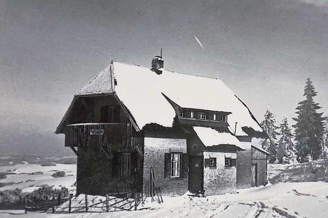 Winterlich verschneit in  den 1920er Jahren  | Foto: Privat