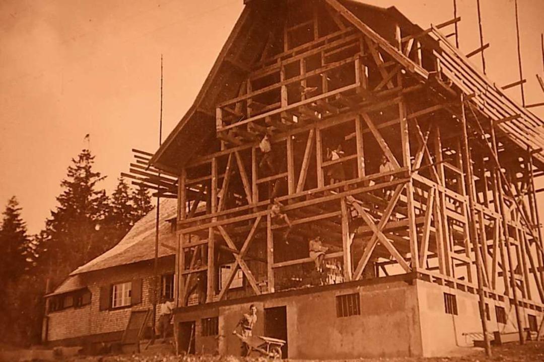 1931 erhielt das Naturfreundehaus einen großen Anbau.  | Foto: Privat