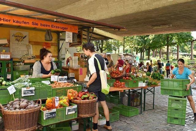 Der Bauernmarkt im Stühlinger bekommt ab Oktober einen neuen Standort