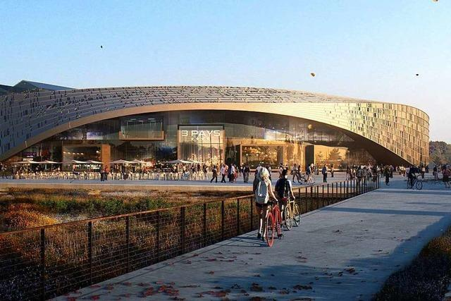 Nahe des Euroairports soll ein Einkaufs- und Freizeitzentrum entstehen