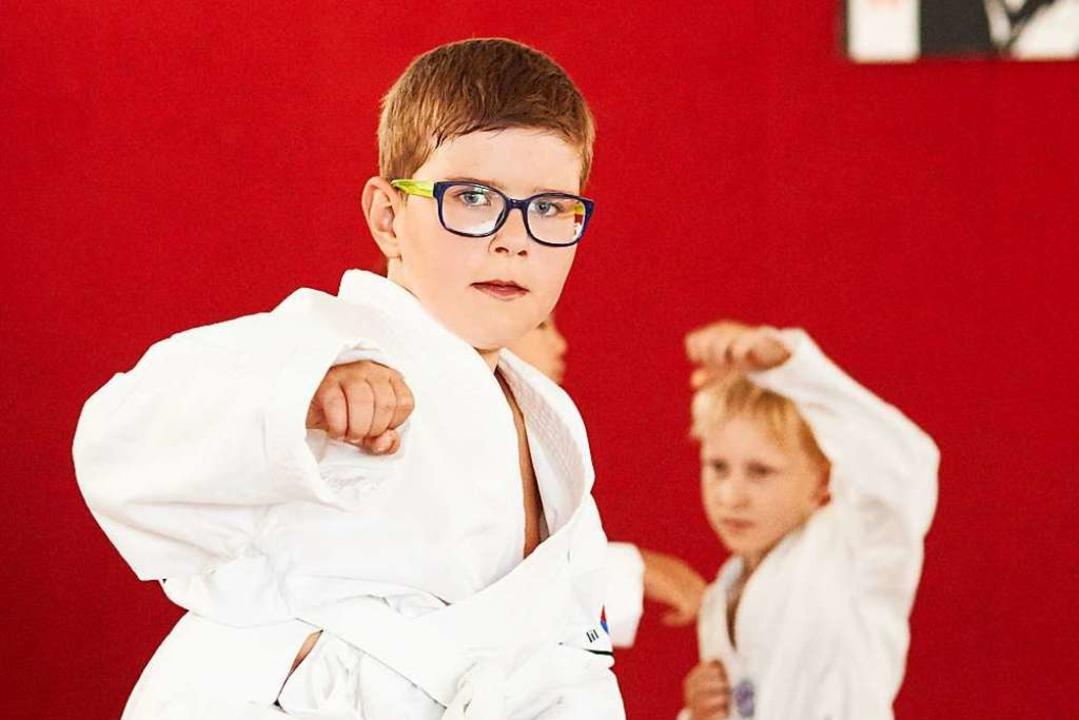 Kinder beim Taekwondo, einer koreanischen Kampfkunst  | Foto: Kilian Kreb