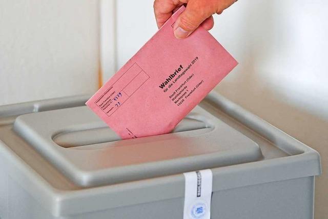 Liveblog: Landtagswahlen in Sachsen und Brandenburg