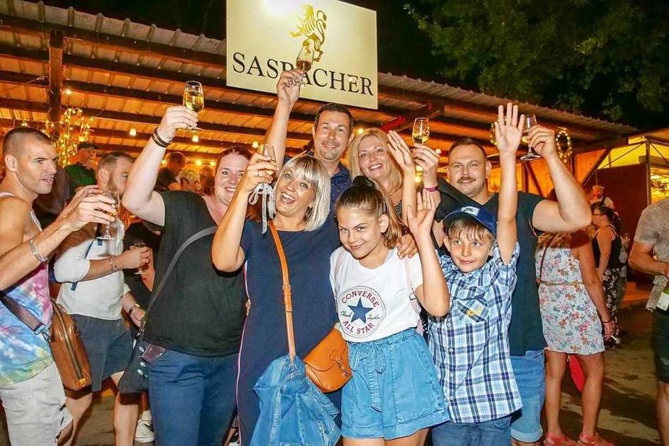 Impressionen vom 63. Breisacher Weinfest (Foto: Patrick Kerber)