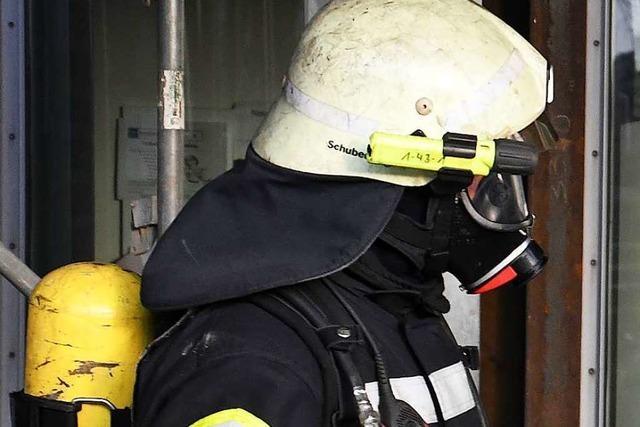Küchenbrand in Freiamt beschäftigt Feuerwehr