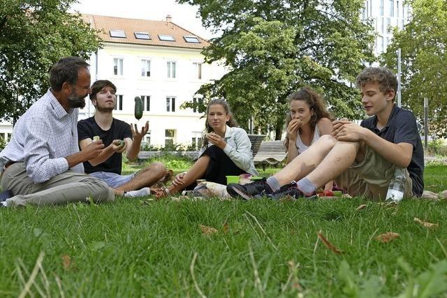 Nachhaltiges Picknick im Hebelpark