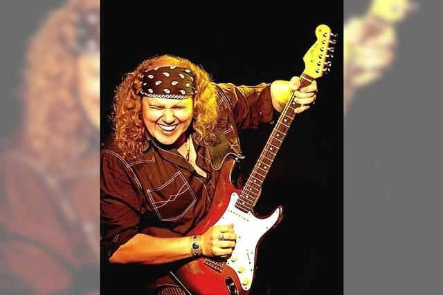 Spitzen-Gitarrist