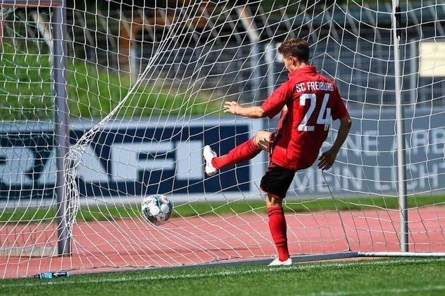 Der SC Freiburg II kommt in Koblenz zu einem 1:0-Sieg