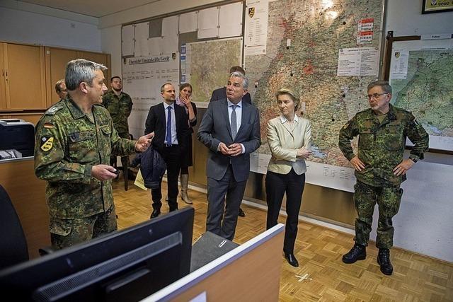 Große Anti-Terrorübung von Polizei und Bundeswehr im Südwesten geplant