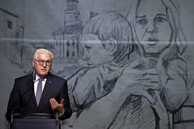 Steinmeier bittet um Vergebung