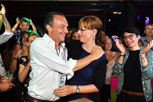 Die Grünen etablieren sich nun auch im Osten Deutschlands