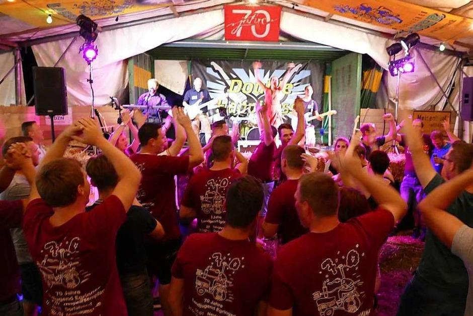 Landjugend feiert ihr Jubiläum mit viel Musik, einem Gottesdienst und der Dorf-Olympiade (Foto: Ulrich  Senf)