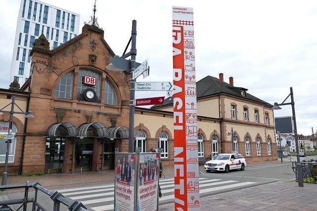 50-Jährige soll eine Bekannte am Hauptbahnhof Lörrach angegriffen haben