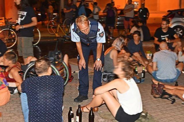Nächtlicher Lärm: Am Freiburger Lederleplatz prallen Interessen aufeinander