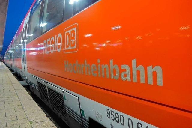 Bahnstrecke zwischen Rheinfelden und Schwörstadt wieder offen