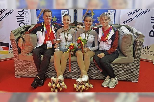 Gold und Bronze bei der Europameisterschaft